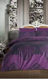 Постельное белье ALTINBASAK BAROK Сатин (Евро) - Фиолетовый