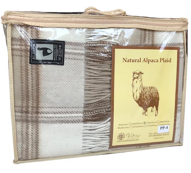 Упаковка пледов Альпака